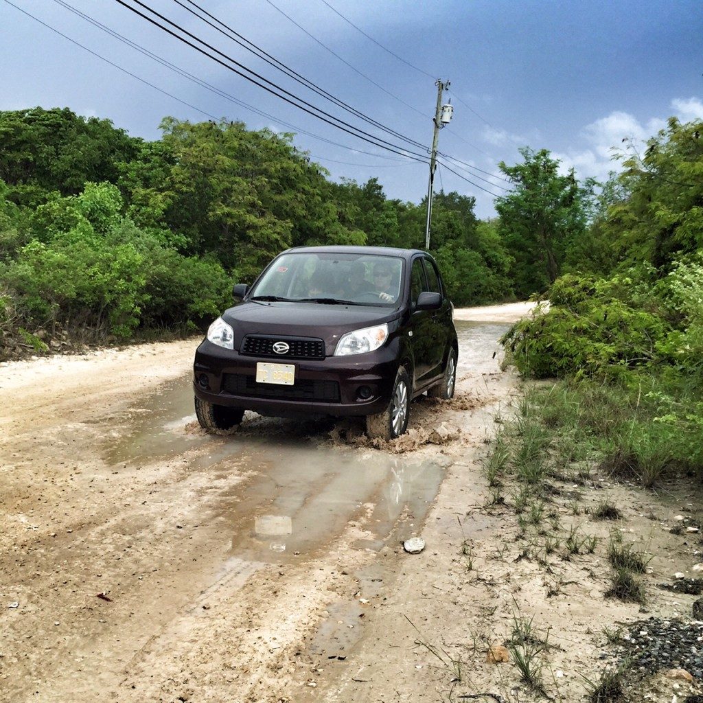 Off road adventure in the Turks and Caicos
