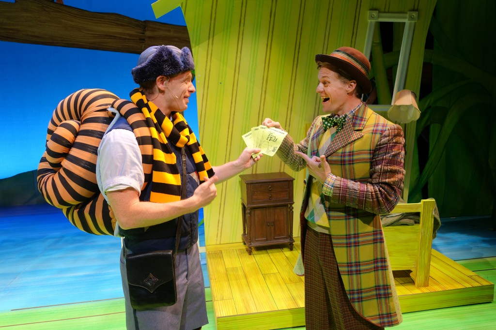 Justin Michael Duval and Alex Miller in SCR's 2015 Theatre for Y
