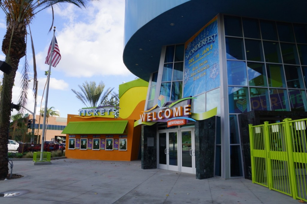 The front of Discovery Cube OC