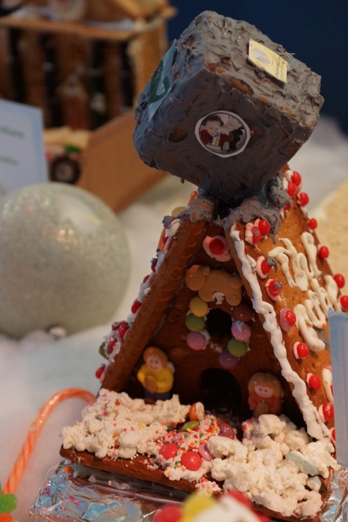 Discovery Cube Gingerbread House