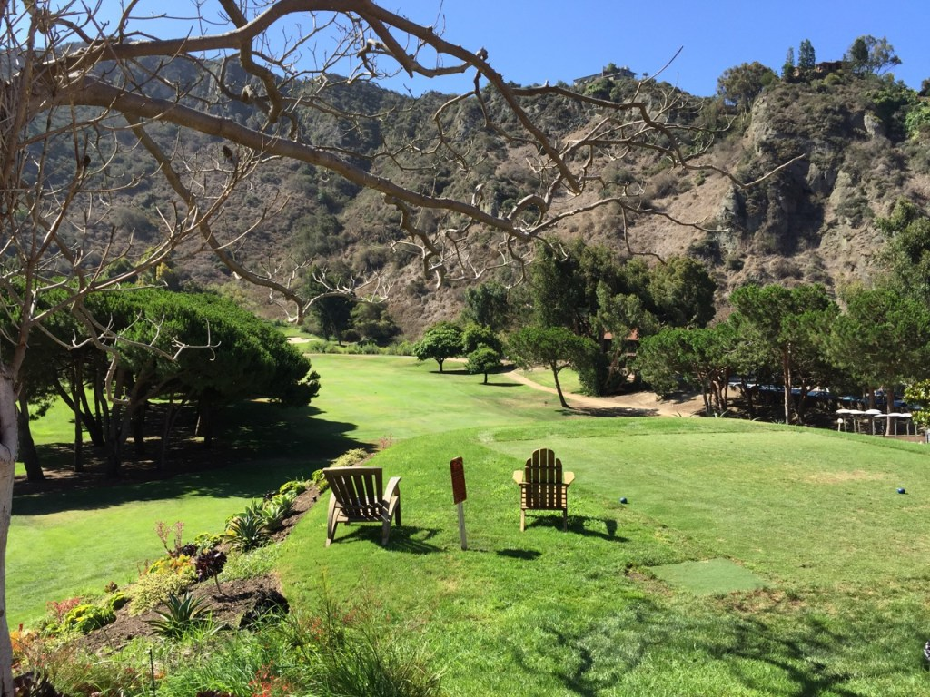 Golf course at The Ranch at Laguna Beach