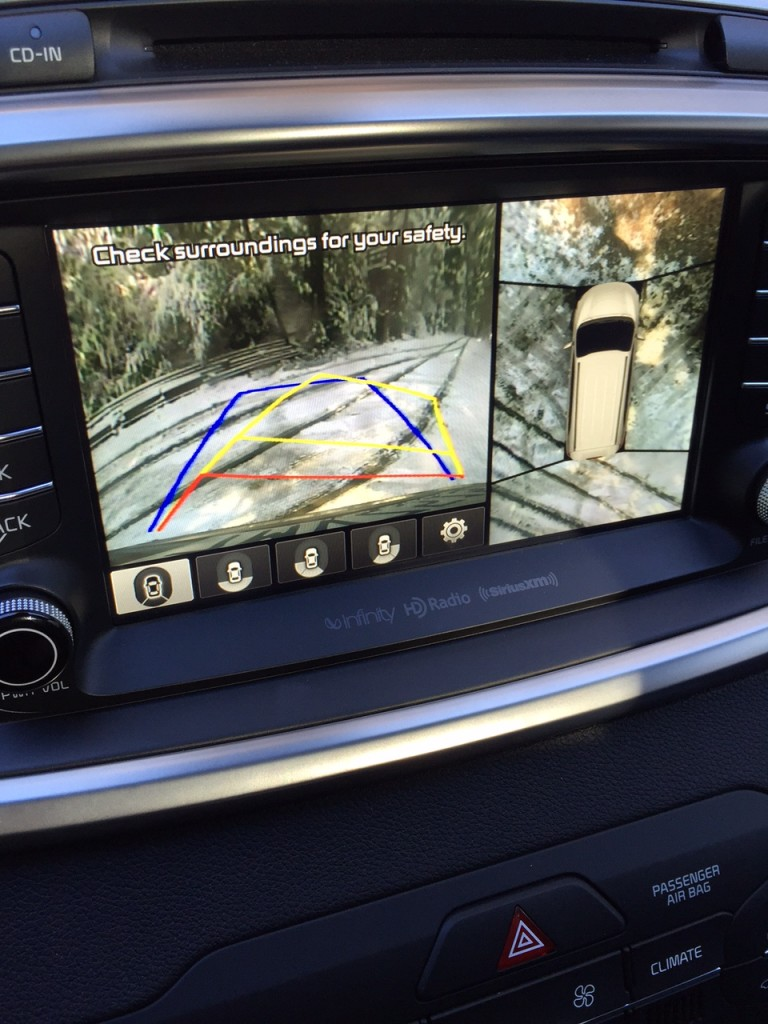 Kia Sorento Back-up Camera