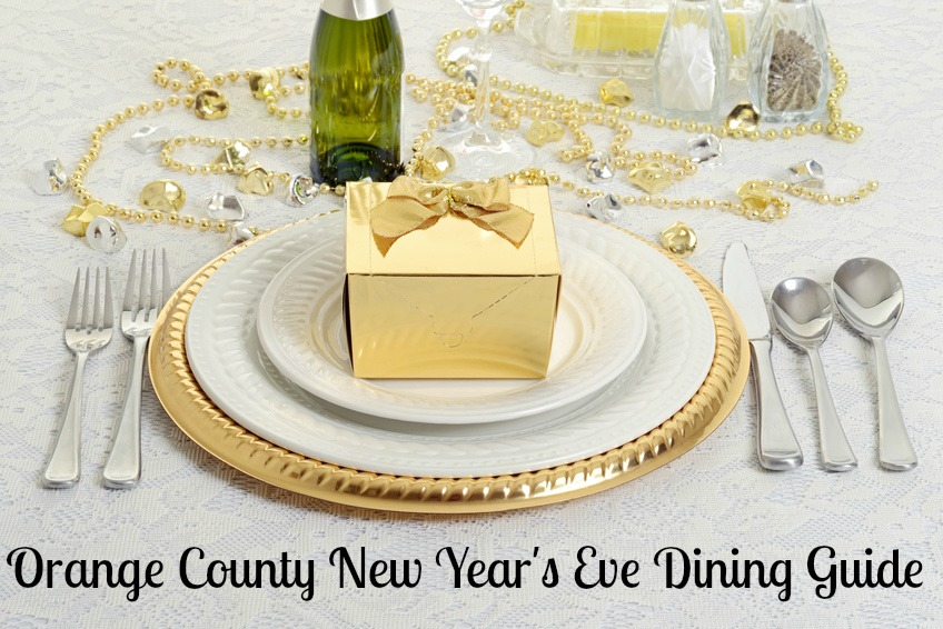Orange County New Year's Eve Dining Guide