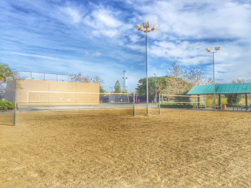 Volleyball courts in Orange County