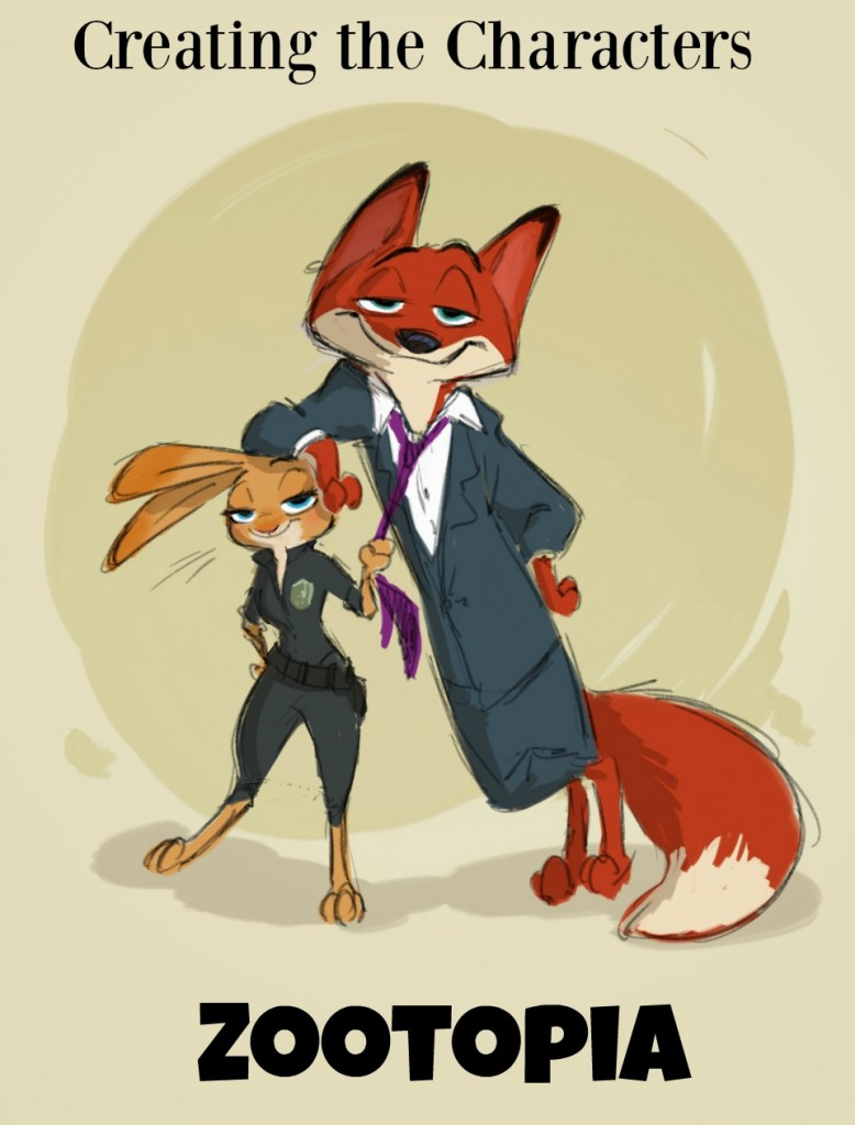 Creating the Characters in Zootopia