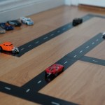 DIY Duck Tape Hot Wheels Track