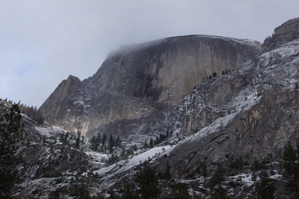 Half dome in Yosmite National Park