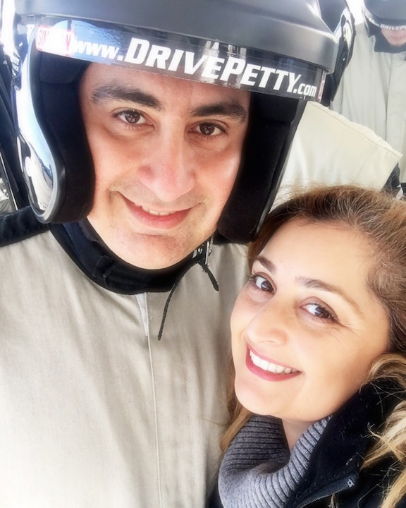 Houman and Naz at Drive Petty