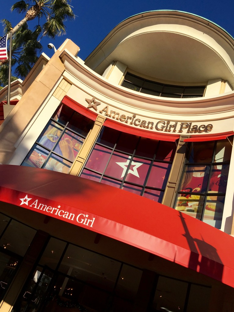 American Girl Place in Los Angeles