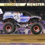 Monster Jam Returns to Angel Stadium