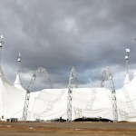 The Breathtaking Odysseo White Big Top Raises in Orange County