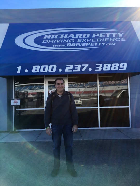 Richard Petty in Las Vegas