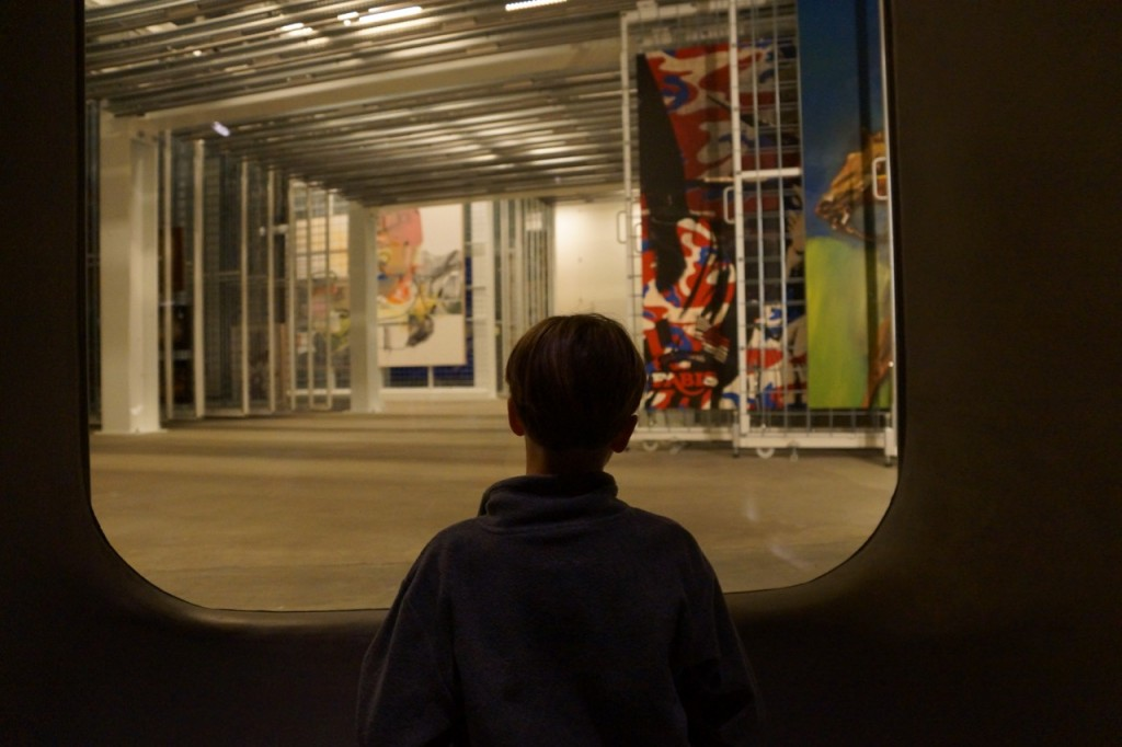 the art vault at the broad