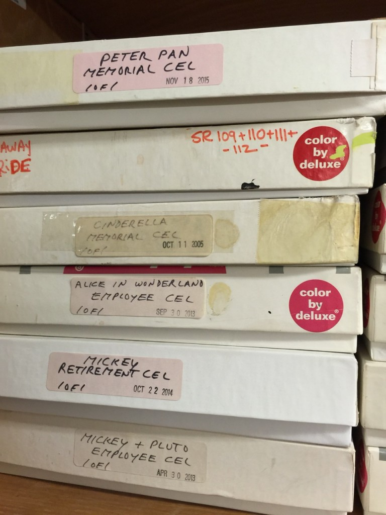 Collectable disney animation cells