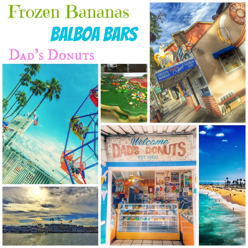 Frozen Banana and Balboa Bar at Dad's Donuts