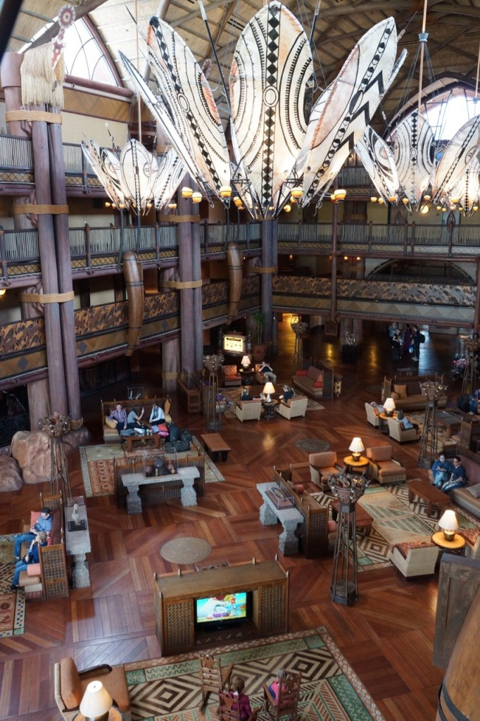 animal kingdom lodge main lobby