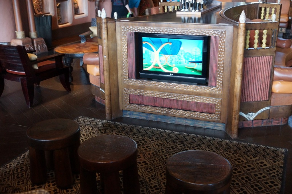 children's television in animal kingdom lodge