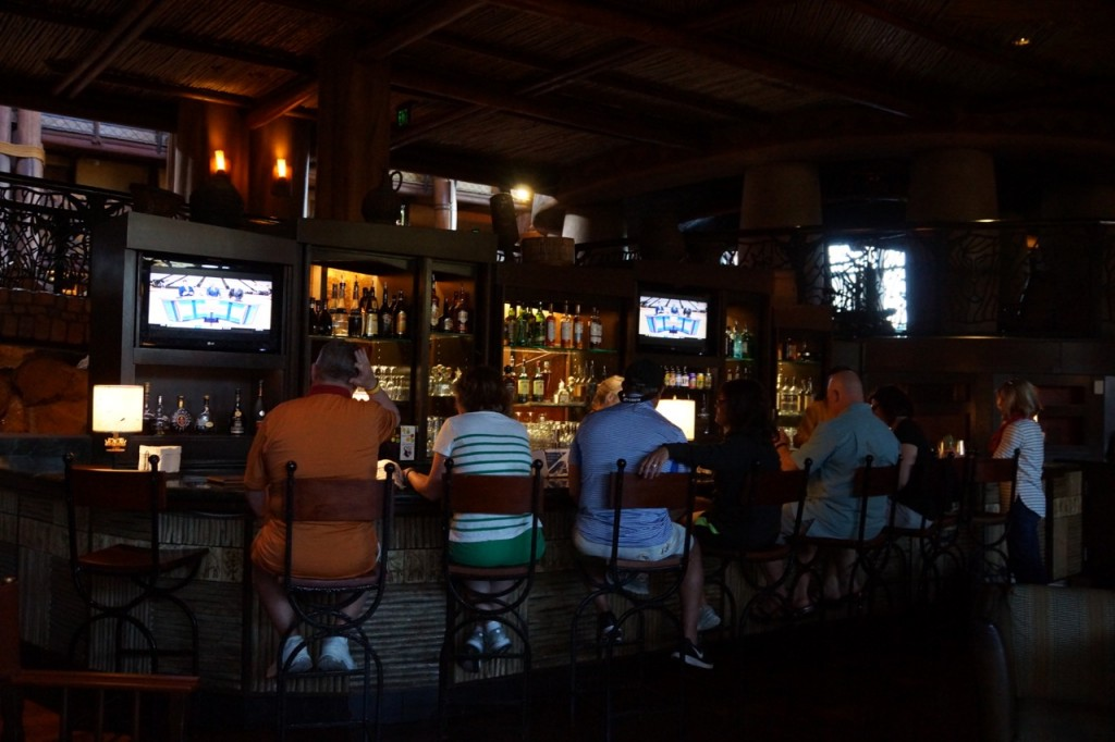 the bar at animal kingdom lodge