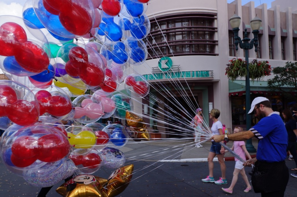 Balloons at Disney's Hollywood Studios