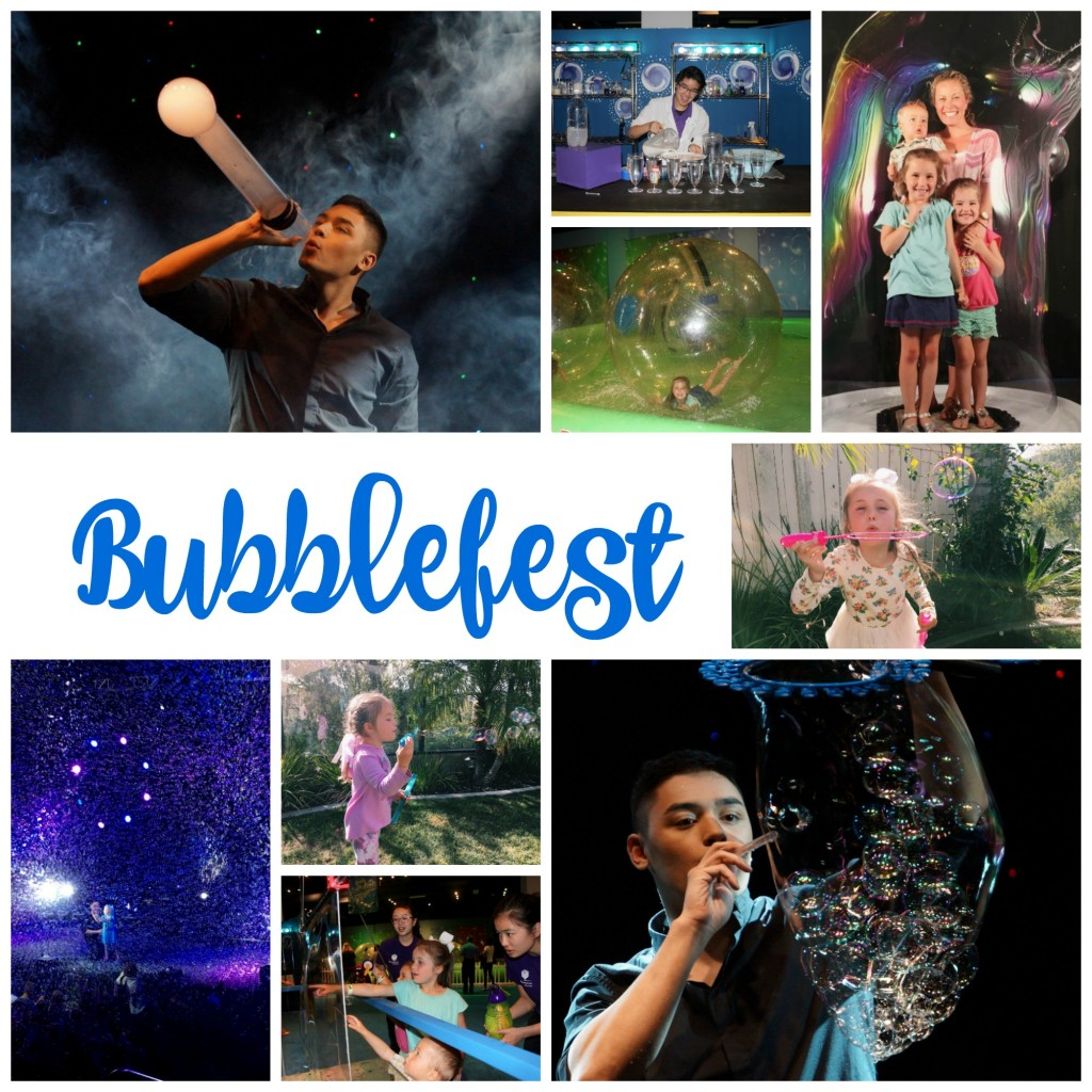 Bubblefest at Discovery Cube