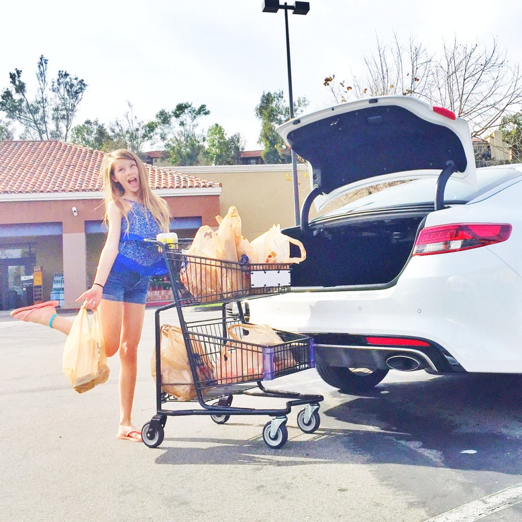 Grocery Shopping with the optima