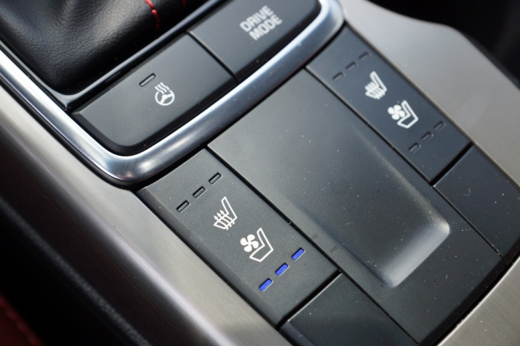 Kia optima heated seats