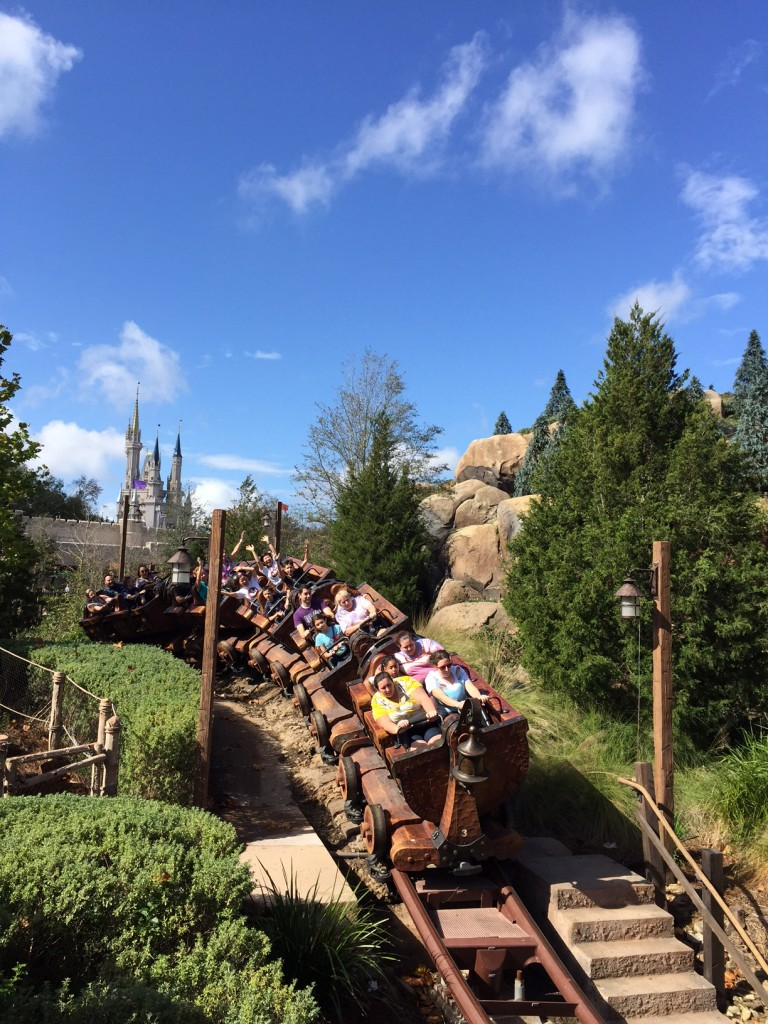 Mine Train Ride at Walt Disney World