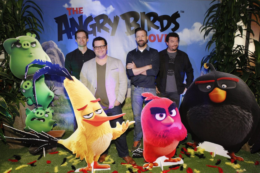The voices in Angry Birds