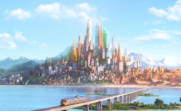 The world of Zootopia