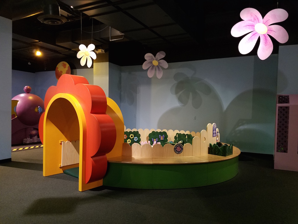 Toddler area at Discovery Cube