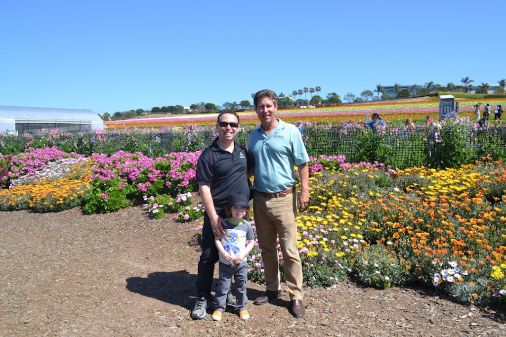 the owner of the flower fields