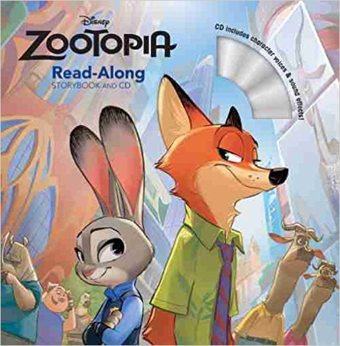 zootopia Read-Along Book