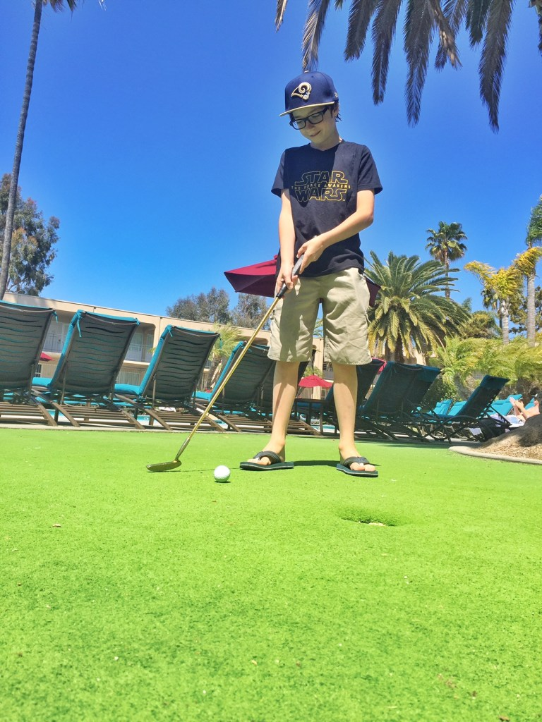 Mini Golf at Newport Hyatt