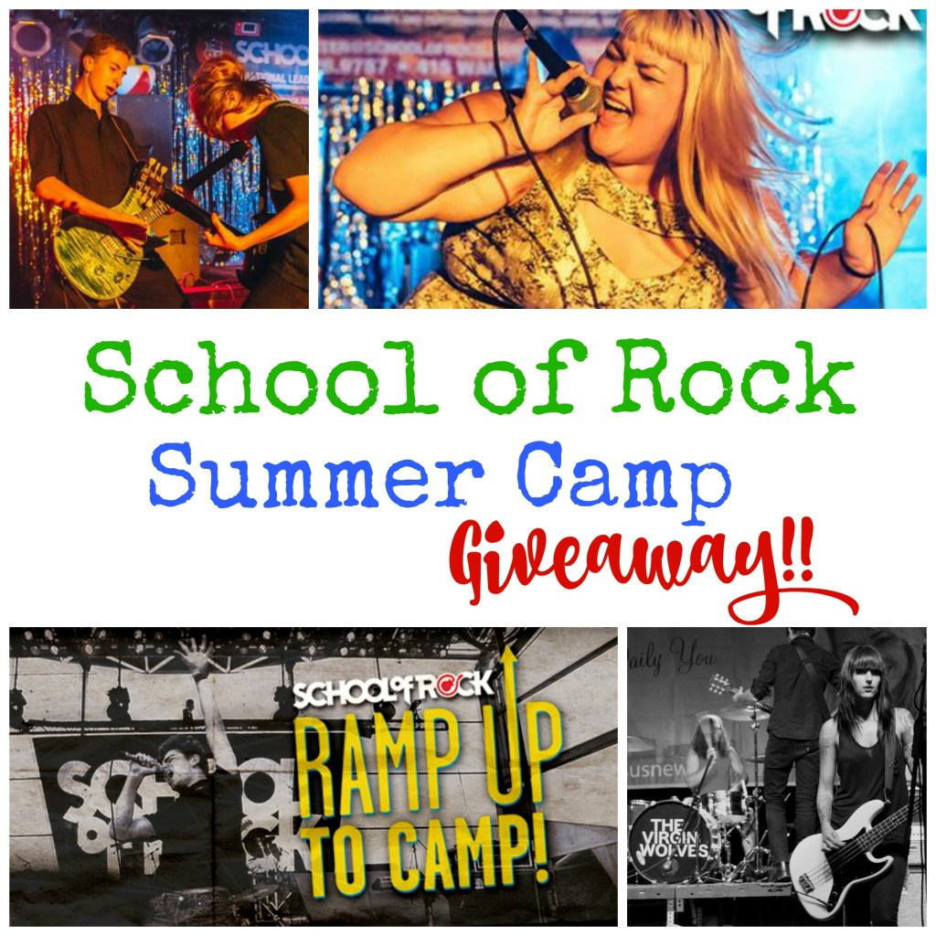 School of Rock Summer Camp Giveaway