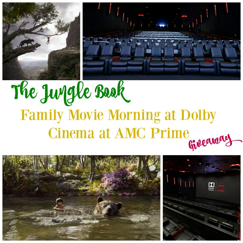 The Jungle Book Dolby Cinema at AMC Prime Giveaway