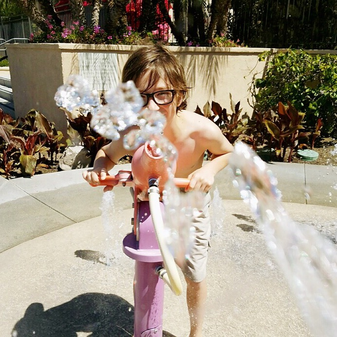 Water Fun at Hyatt Newport Beach