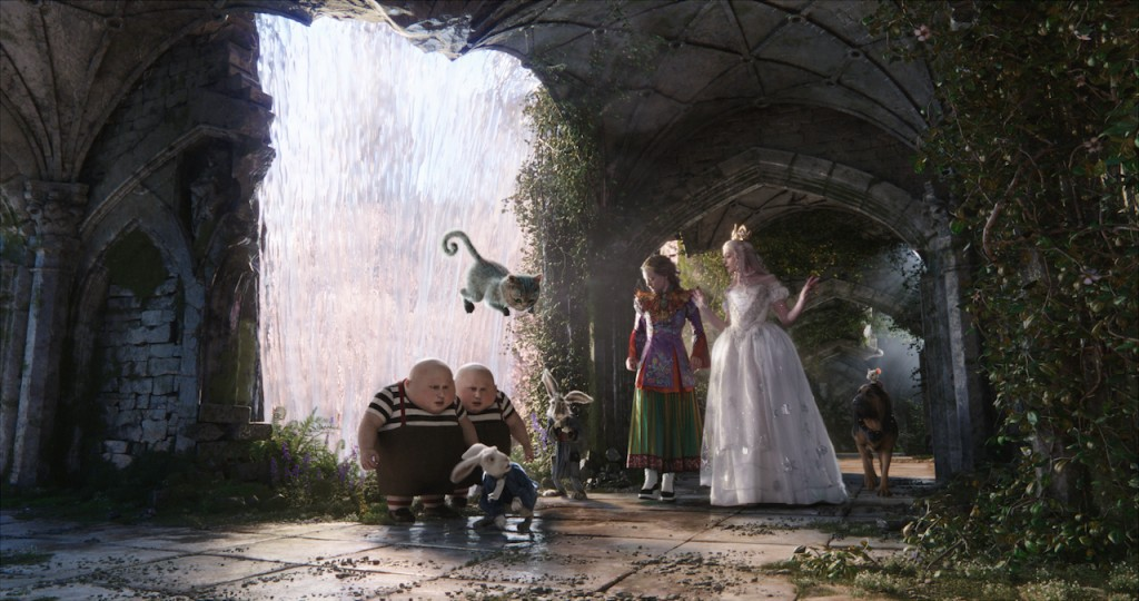 The magical masterpiece of Alice Through the Looking Glass
