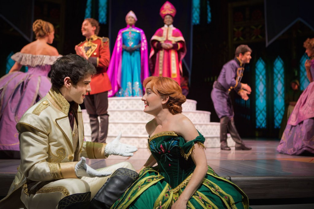 Anna falling in love in Frozen Live at the Hyperion