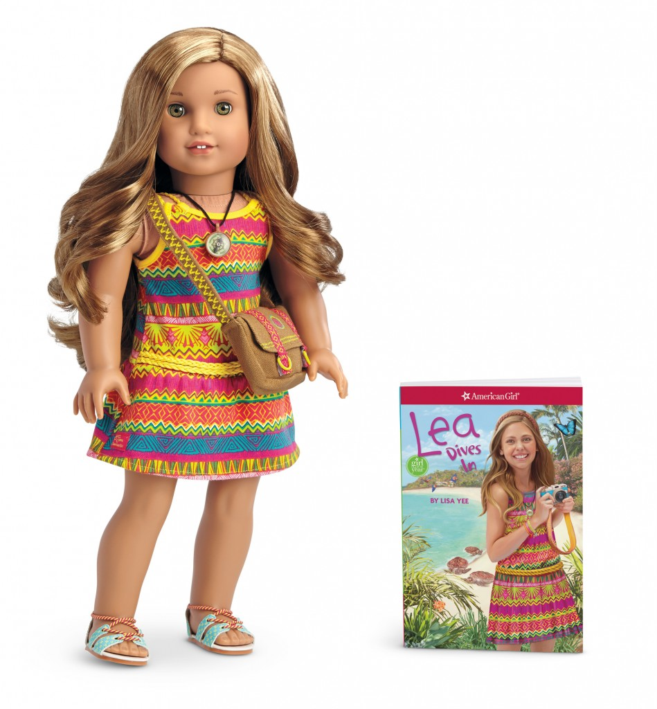 Lea Doll and Book-LR