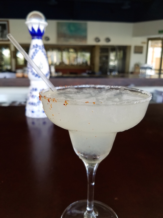Margarita at Steinbecks in La Paz