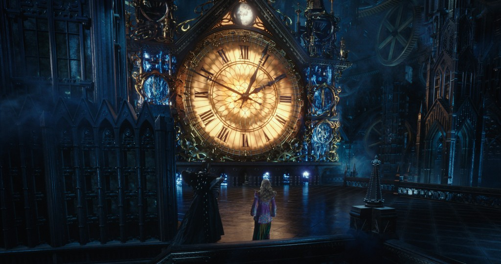 The clock in Alice Through the Looking Glass