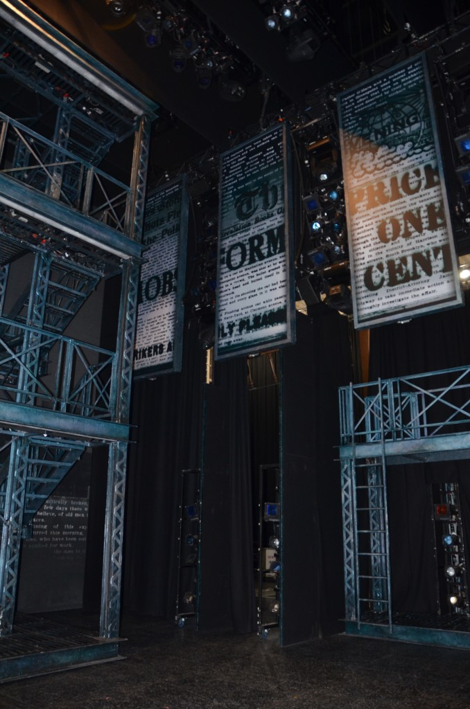 stage for newsies