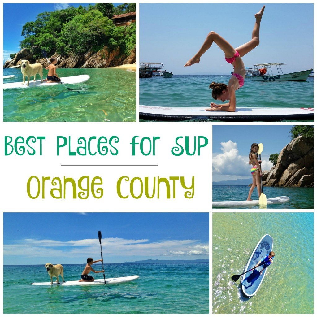 Best Places for SUP in Orange County