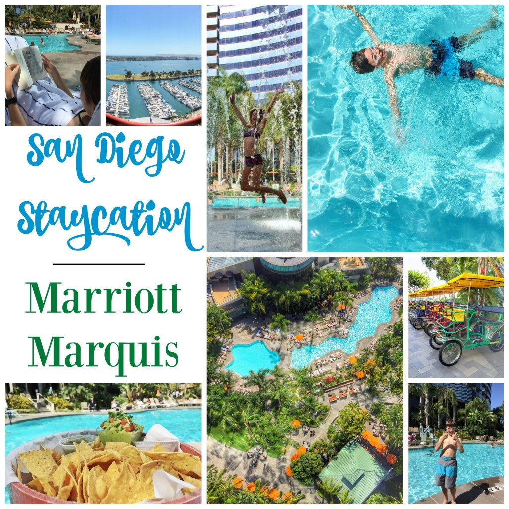 San Diego Staycation at Marriott Marquis