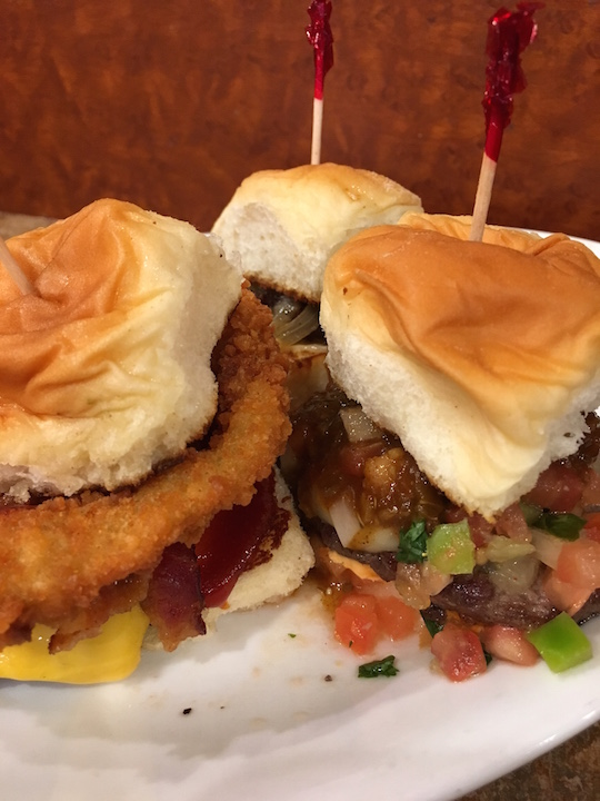 Sliders at Ruby's