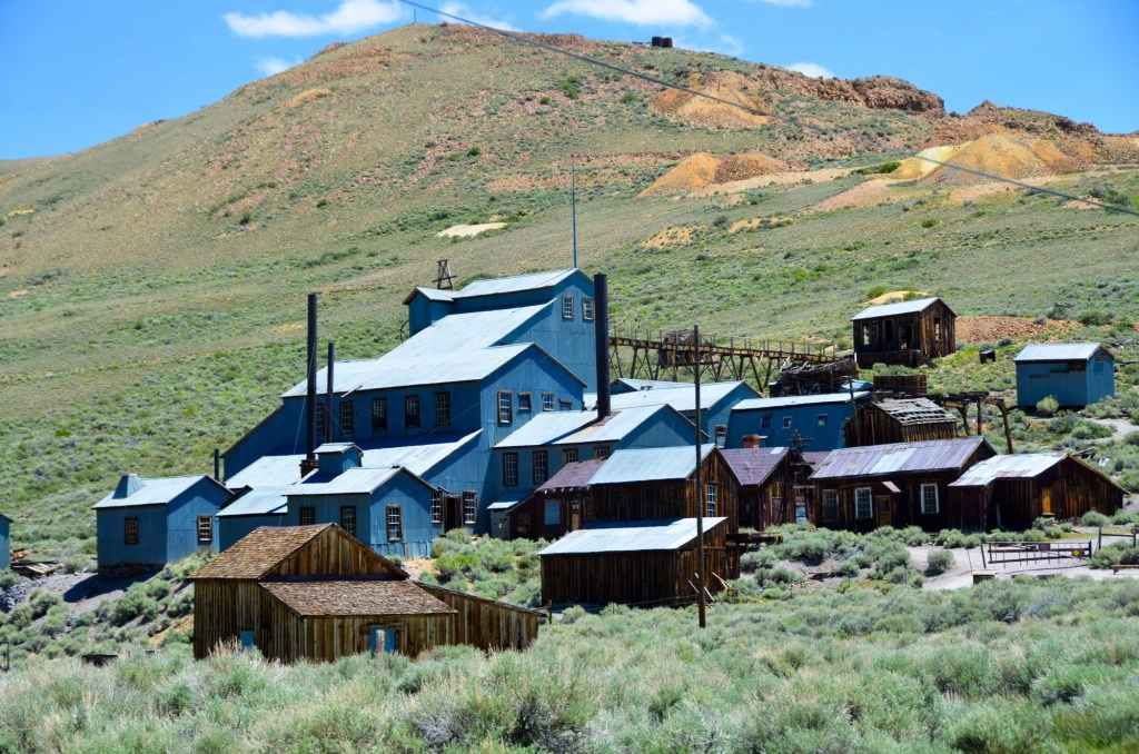 The small town of Bodie
