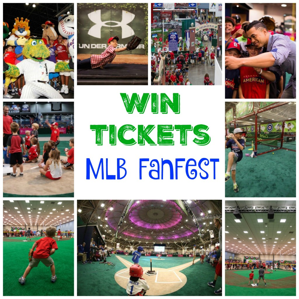 Ticket to MLB FanFest