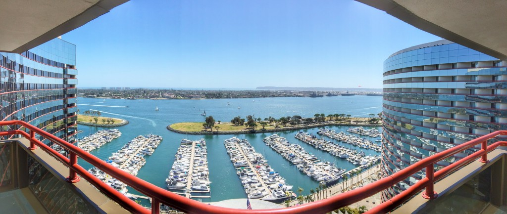 View from Marriott Marquis San Diego Marina