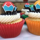 How to Make Voltron Cupcakes