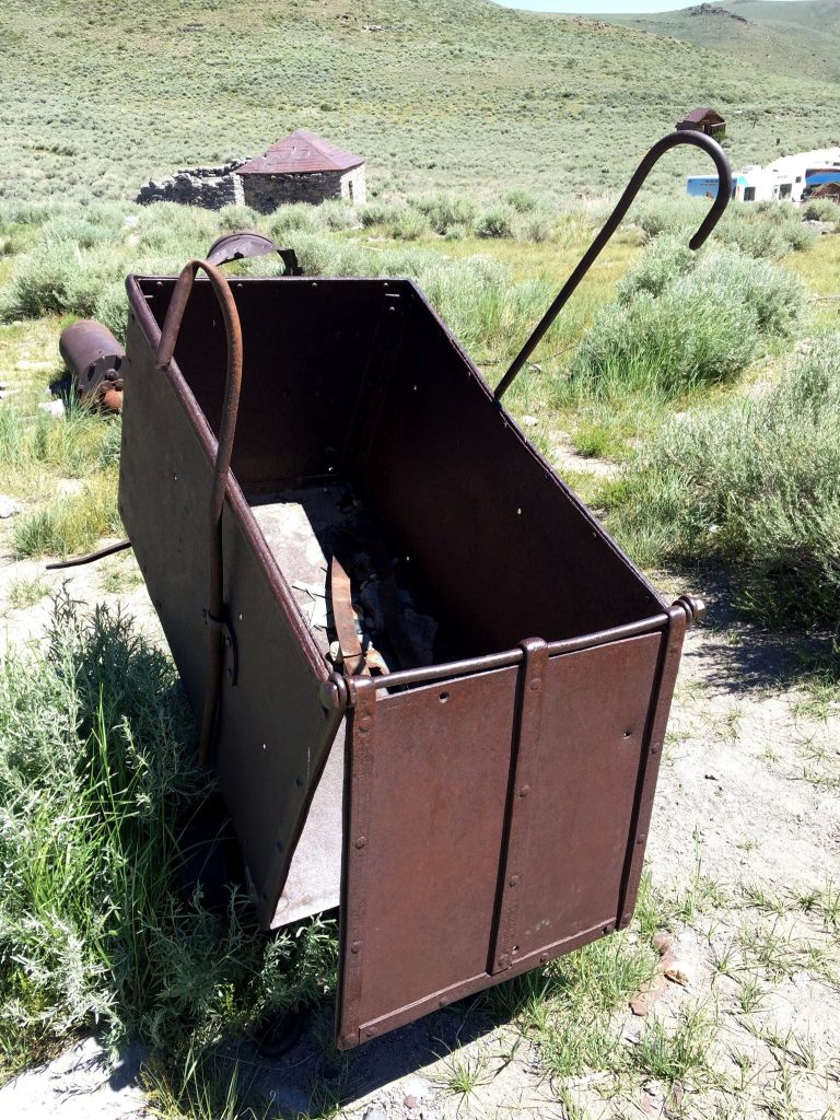 a mining tool in Bodie
